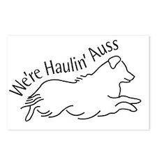 We're Haulin' Auss Postcards (Package of 8)