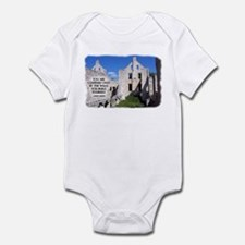 Confined By Walls Infant Body Suit