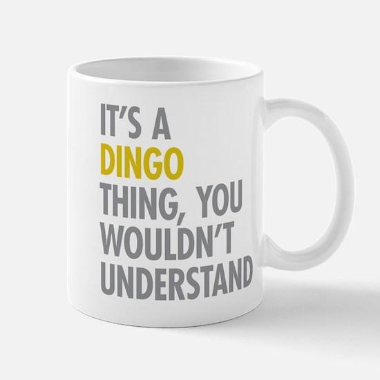 Its A Dingo Thing Mug