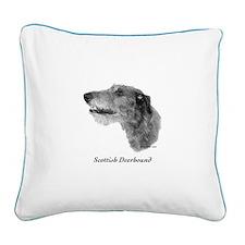 Scottish Deerhound Square Canvas Pillow