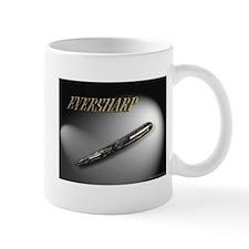 Eversharp Gray Modern Stripe Coffee Mug
