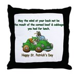 Irish Powered Throw Pillow