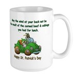 Irish Powered Large Mug