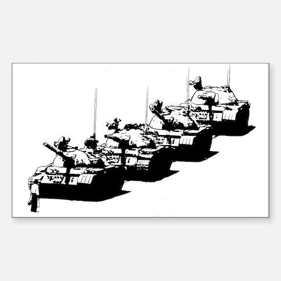 Tienanmen Tank Man Decal