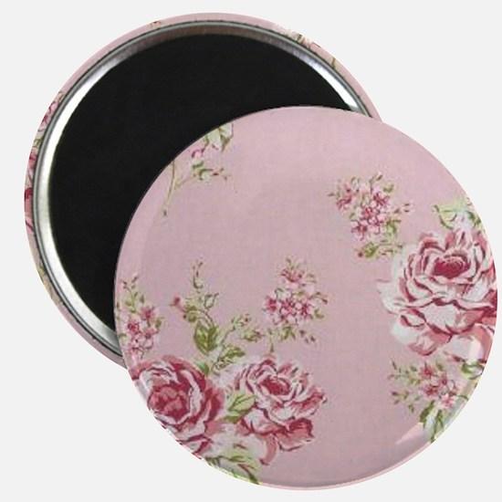 elegant colorful roses vintage floral Magnet