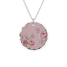 elegant colorful roses vinta Necklace