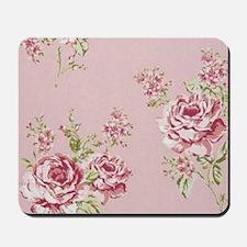 elegant colorful roses vintage floral Mousepad