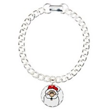 Cute santa head.png Bracelet