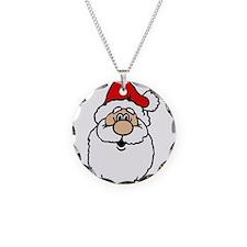 Cute santa head.png Necklace