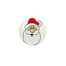 Cute santa head.png Mini Button (100 pack)