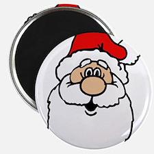 Cute santa head.png Magnets