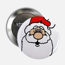 "Cute santa head.png 2.25"" Button"