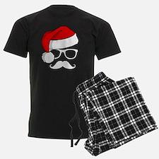 Christmas Mustache Nerd pajamas