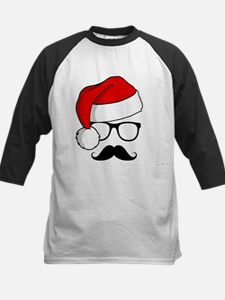 Christmas Mustache Nerd Tee