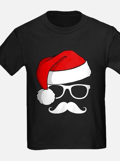 Christmas Mustache Nerd T