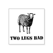 Two Legs Bad Sheep Sticker