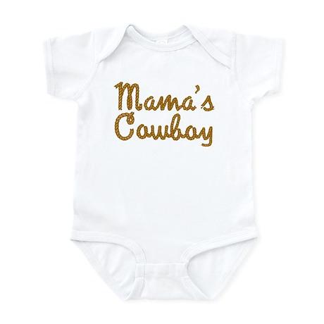 Mama's Cowboy Infant Bodysuit