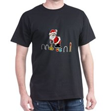 santa croquet with ornaments T-Shirt