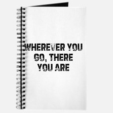 Wherever You Go, There You Ar Journal