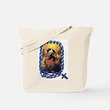 Mary Undoer of Knots Tote Bag