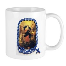 Mary Undoer of Knots Mugs