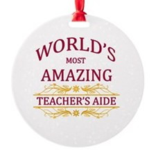Teacher's Aide Ornament