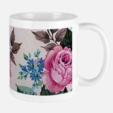 shabby chic country roses vintage floral Mugs