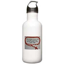 Direct Line to Father, Love Mom Water Bottle