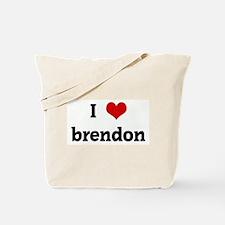 I Love brendon Tote Bag