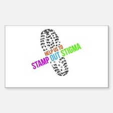 Stamp Out Stigma Decal