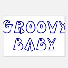 Groovy Baby Postcards (Package of 8)