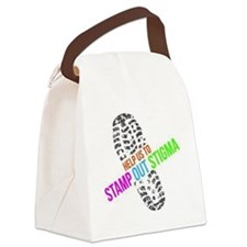 SOS larger Canvas Lunch Bag