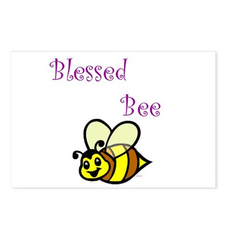 Blessed Bee Postcards (Package of 8)