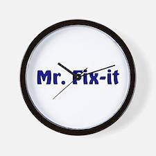 Mr. Fix It Wall Clock
