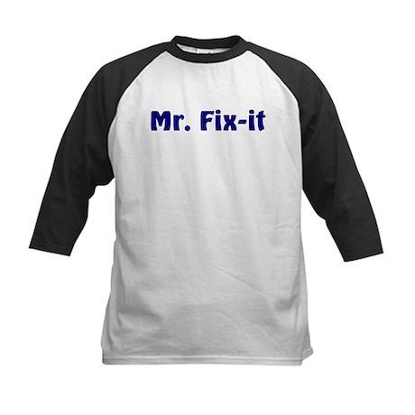 Mr. Fix It Kids Baseball Jersey