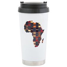 Ethnic African Tapestry Travel Mug