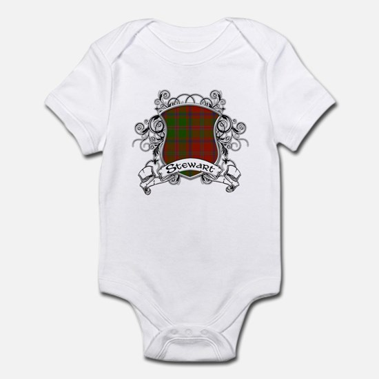 Stewart Tartan Shield Infant Bodysuit