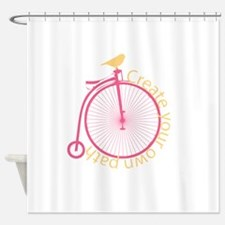Bicycle Shower Curtains Bicycle Fabric Shower Curtain Liner