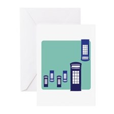 Phone Booth Greeting Cards