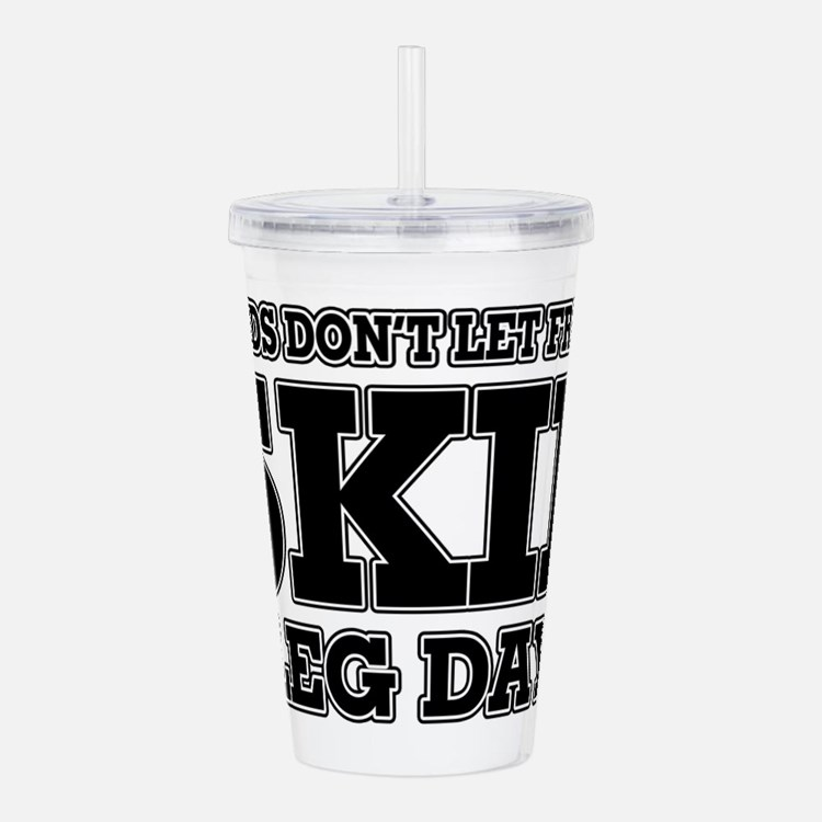 Cute Personal trainer Acrylic Double-wall Tumbler