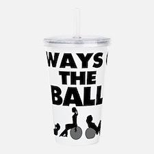 Always On The Ball Acrylic Double-wall Tumbler