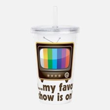 Cute Tv show Acrylic Double-wall Tumbler