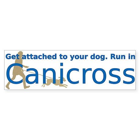 I Canicross Sticker (Bumper)