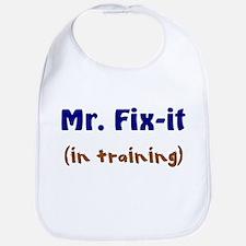 Mr. Fix It In Training Bib