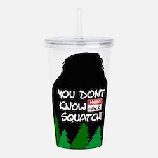 Jack Squatch Acrylic Double-wall Tumbler