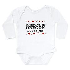 Cute Oregon love Long Sleeve Infant Bodysuit