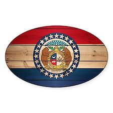 Cute Missouri state flag Decal