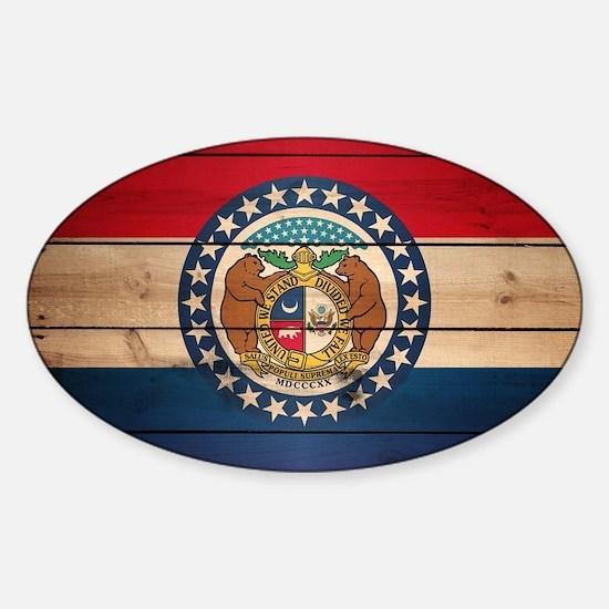 Unique Missouri state seal Sticker (Oval)