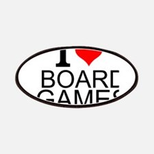 I Love Board Games Patches