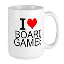 I Love Board Games Mugs
